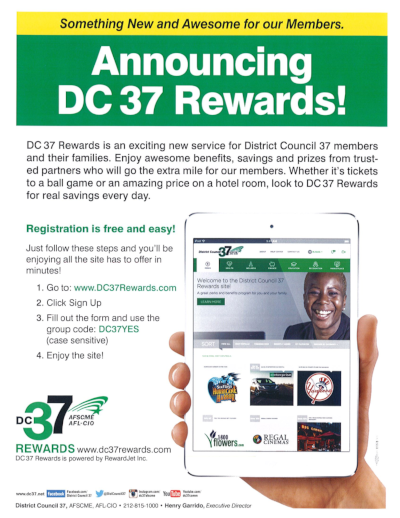 DC37 Rewards